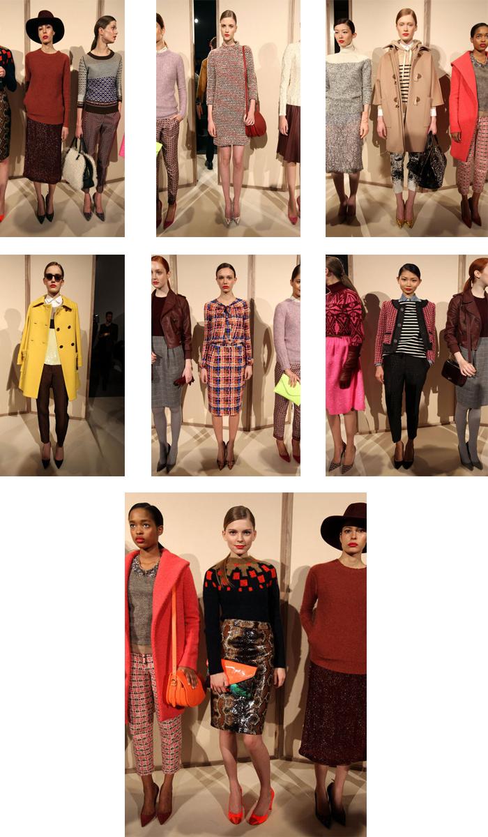 New York Fashion Week Fall 12': J. Crew
