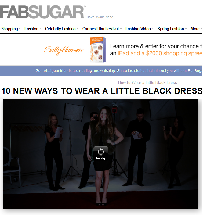 BTS: 10 New Ways to Wear a Little Black Dress