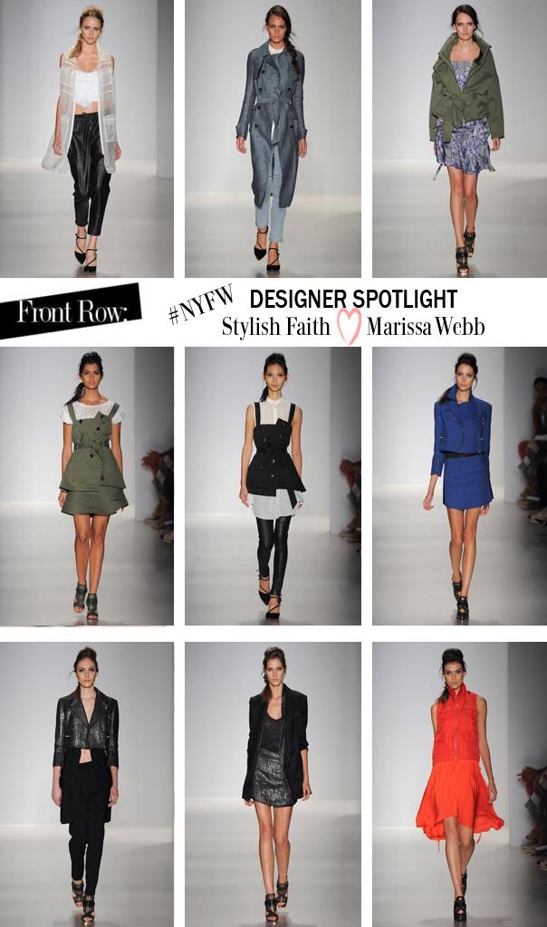 NYFW Spring 2015: Designer Spotlight – Marissa Webb